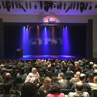 Photo taken at Saratoga Civic Theater by Rob G. on 5/21/2016