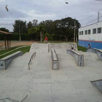 Photo taken at Pista Municipal De Skate Porto Ferreira by rafacaps on 6/22/2013
