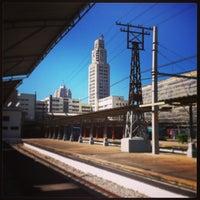 Photo taken at SuperVia - Central do Brasil Train Station by Rodrigo L. on 6/12/2013