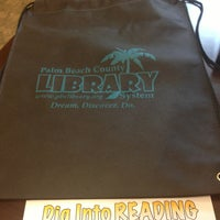 Photo taken at Palm Beach County Library System by Steve A. on 6/19/2013