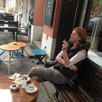 Photo taken at Passenger Espresso by Flora K. on 5/14/2013