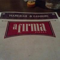 Foto tirada no(a) A Firma Pizzas por Patrick S. em 12/8/2012