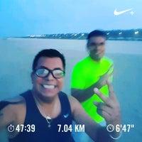 Photo taken at Playa miramar by Jedo P. on 7/18/2017