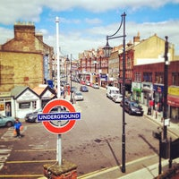Photo taken at South Woodford London Underground Station by Andy C. on 6/8/2013