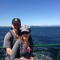 Photo taken at Vashon Ferry by Marta B. on 5/4/2013