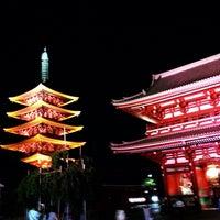 8/31/2013 tarihinde Takumi I.ziyaretçi tarafından Senso-ji Temple'de çekilen fotoğraf