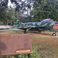 Photo taken at Mighty 8th Airforce Museum by Ekaterina D. on 11/5/2014
