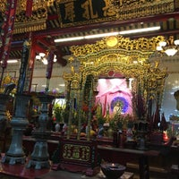 Photo taken at Guanyin Gumiao Temple by Pei-Chi L. on 2/20/2016