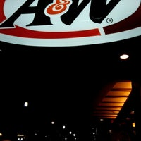 Photo taken at A&W by Adhy E. on 10/12/2017