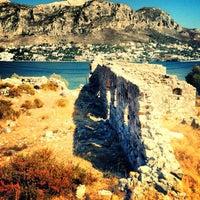 Photo taken at Telendos Island by Βίκυ Τ. on 8/18/2013