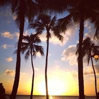 Photo taken at Waikīkī Beach by Kimihito T. on 2/21/2013