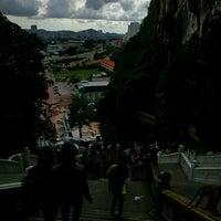 Photo taken at Bulatan Batu Caves by Primavera. B. on 11/20/2016
