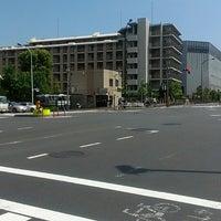 Photo taken at 日曹橋交差点 by Ryota T. on 5/18/2013