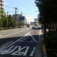 Photo taken at 日曹橋交差点 by Ryota T. on 5/12/2013