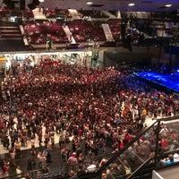 Photo taken at Wiener Stadthalle by Vladimir C. on 6/25/2014