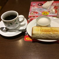 Photo taken at Denny's by いちご 1. on 1/19/2017