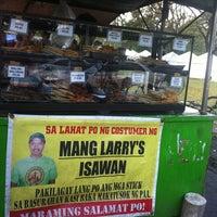 Photo taken at Mang Larry's Isawan by Joyce D. on 12/28/2012