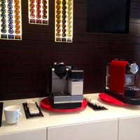 Photo taken at Nespresso Boutique by JANE B. on 10/25/2013