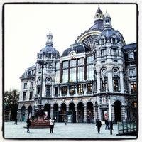 Photo taken at Koningin Astridplein by Javier F. on 11/29/2012