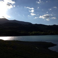 Photo taken at Lago di Bomba by Nicoletta S. on 9/22/2013