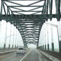 Photo taken at Burlington–Bristol Bridge by Abdullah TA1AB P. on 6/18/2013