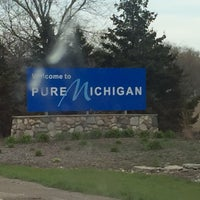 Photo taken at Michigan / Ohio State Line by Abdullah TA1AB P. on 4/27/2016