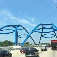 Photo taken at Gateway Bridge by Abdullah TA1AB P. on 6/27/2014