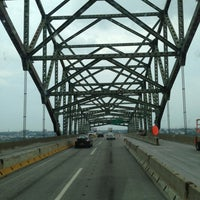 Photo taken at Vincent R. Casciano Memorial Bridge (Newark Bay Bridge) by Abdullah TA1AB P. on 7/10/2013