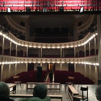 Photo taken at Teatro Consorziale Di Budrio by YeStoryteller on 2/25/2017