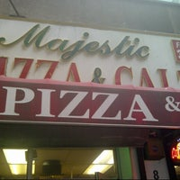 Photo taken at Majestic Pizza by W C. on 1/14/2013