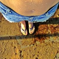 Photo taken at Пляж Aldemar Knossos by Milana O. on 7/27/2013