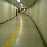 Photo taken at Nijuyonken Station (T04) by 恵 on 9/7/2013
