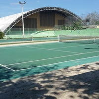 Photo taken at Cancha De Tennis LC by Lisbet D. on 4/12/2014