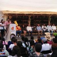 Photo taken at 10 Encuentro de Cocina Tradicional Michoacán by MiguelÁngel V. on 10/6/2013
