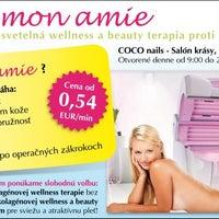 Photo taken at Coco nails-salon krasy by Adriana Š. on 5/19/2013