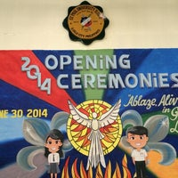 Photo taken at Fr. Louis Chauvet Center (SPU Iloilo Gymnasium) by EEna C. on 6/30/2014