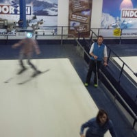 Photo taken at Indoor-ski by Frank B. on 1/3/2014