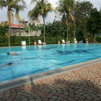 Photo taken at Kolam Renang Citra Garden 1 by Ester on 5/18/2013