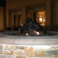 Photo taken at Firepit At The Courtyard By Marriott by Matthew S. on 4/26/2013