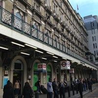Photo taken at Charing Cross Railway Station (CHX) by Jean-Marc H. on 6/16/2013