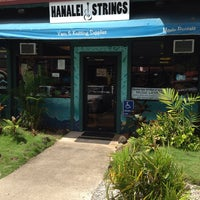 Photo taken at Hanalei Strings by Randy C. on 9/23/2014
