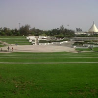 Photo taken at Al Mamzar Park by Valeriya S. on 6/14/2013