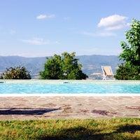 Photo taken at Villa Campestri - Olive Oil Resort by Eric R. on 7/25/2017