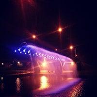 Photo taken at Riverside walk by Adam F. on 5/30/2013