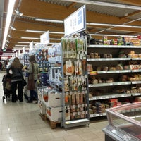 Photo taken at REWE by Leonid K. on 4/16/2014