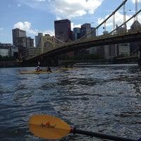 Photo taken at Kayak Pittsburgh by Jen H. on 6/1/2014