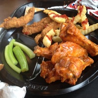 Photo taken at Zaxby's Chicken Fingers & Buffalo Wings by Ava N. on 7/17/2014