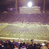 Photo taken at Bill Snyder Family Stadium by Nate D. on 11/4/2012