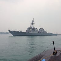 Photo taken at Changi Naval Base by Jeanette S. on 10/3/2015