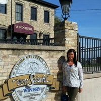 Photo taken at Von Stiehl Winery by John F. on 10/10/2015